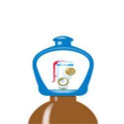 alphagaz™ 1 elio bombola l50 smartop