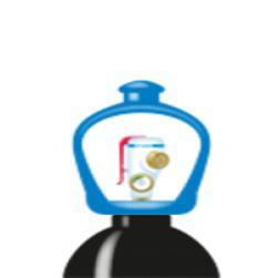 alphagaz™ 1 azoto bombola smartop l50